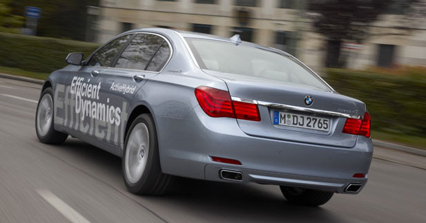 Interview BMW ActiveHybrid : double impact