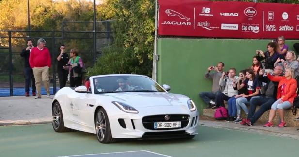 Jeu, set et match pour Jaguar au National Tennis Cup