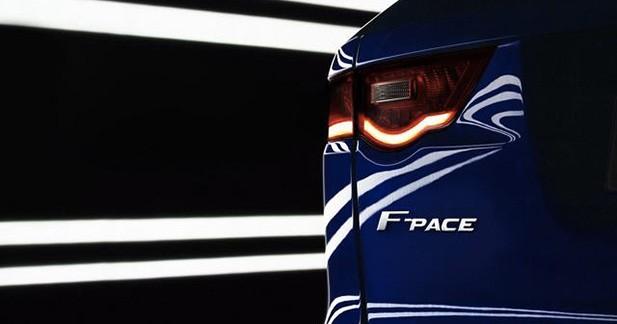 Le Jaguar F-Pace sera à Francfort