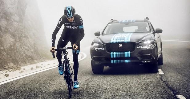 Le Jaguar F-Pace présenté au Tour de France