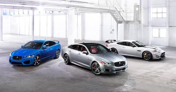 Diaporama : Jaguar gamme R, toutes griffes dehors depuis 25 ans