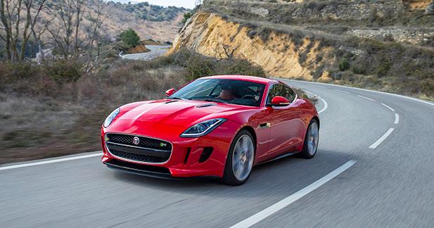 Bientôt une transmission intégrale pour la Jaguar F-Type