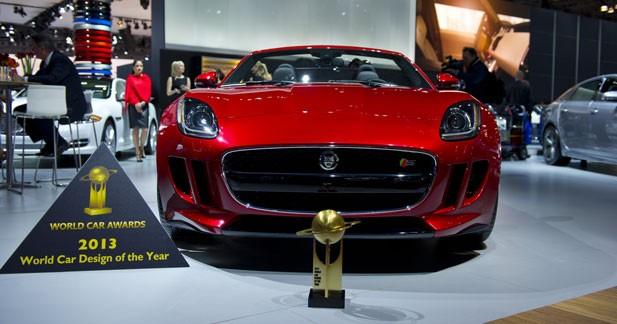 La Jaguar F Type élue voiture de l'année pour son design