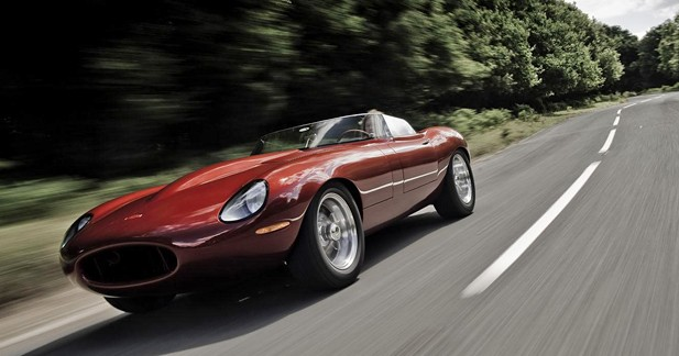 Jaguar Type-E Lightweight Speedster : British revival