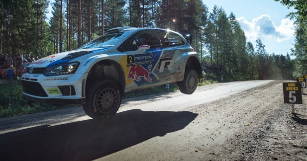 WRC – Finlande: Ça se resserre entre Ogier et Latvala