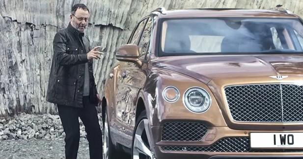 Jean Reno devient l'ambassadeur du Bentley Bentayga