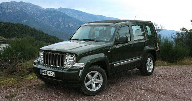 Jeep Cherokee 2.8 CRD 177 : confortable aventure