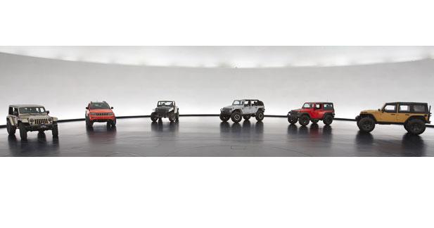 6 nouveaux concepts chez Jeep
