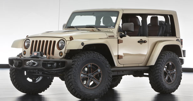 Jeep Wrangler Flattop : chicos