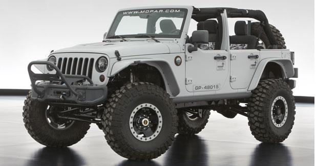 Jeep Wrangler Mopar Recon : furtive