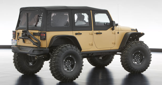 Jeep Wrangler Sand Trooper II : prête à débarquer