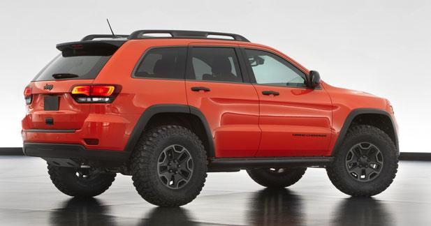Jeep Grand Cherokee Trailhawk Concept : extrême