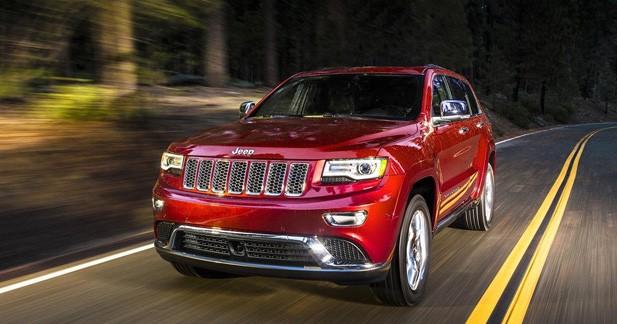 Jeep Grand Cherokee restylé : nouveau regard et nouvelle boîte
