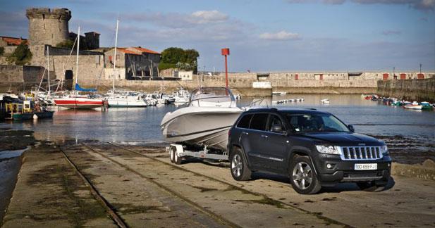 Jeep partenaire du salon nautique for Parking porte de versailles salon nautique