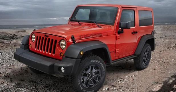 3 éditions spéciales Jeep seront présentées au Mondial de Paris