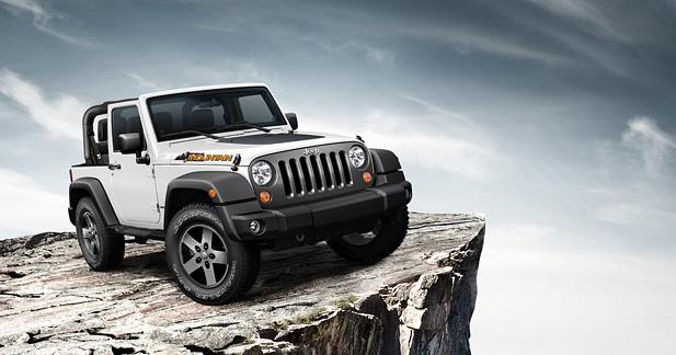 Jeep Wrangler série Mountain : pour montagnard distingué