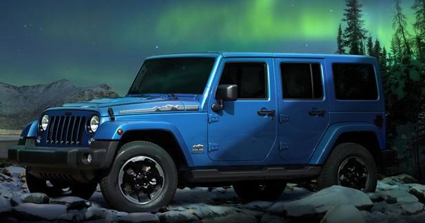 Jeep Wrangler Polar : ambiance glacée