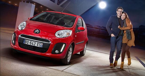 Citroën fête la Saint Valentin sur Facebook