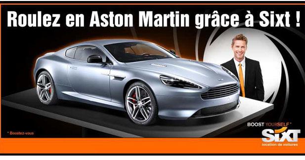 Un week end en Aston à gagner chez Sixt