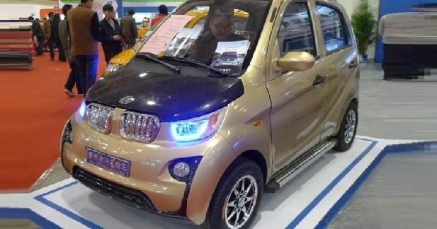 La BMW i3 a sa copie chinoise