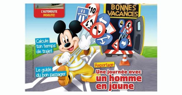 Les autoroutes Vinci vont distribuer une édition spéciale du Journal de Mickey