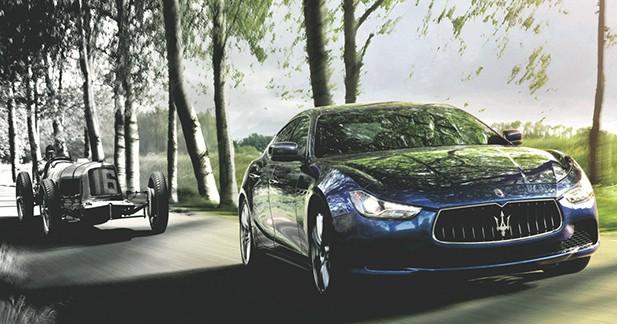 Maserati fête ses 100 ans ce lundi 1er décembre 2014
