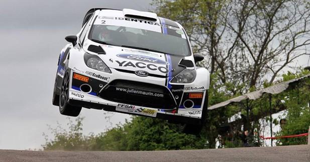 Rallye France- Mâcon: Maurin en pleine réussite
