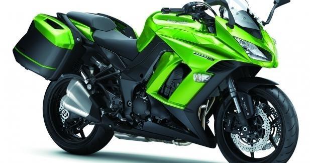 Kawasaki peaufine sa Z1000SX pour 2014