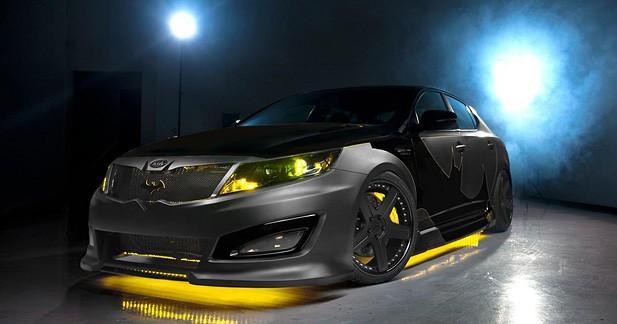 La Kia Optima aux couleurs de Batman