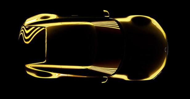 Le prochain concept-car Kia se dévoile... un peu