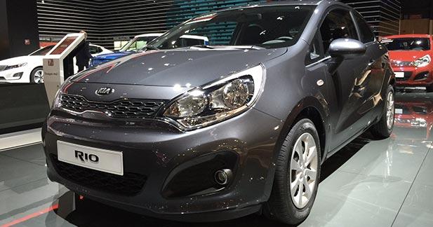 Mondial Auto 2014 : Kia Rio restylée, subtiles retouches
