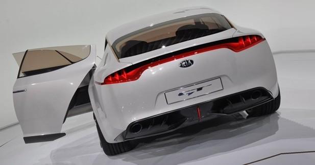 Kia Sports Sedan Concept : Produit d'image
