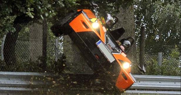 KTM X-Bow : droit dans le mur