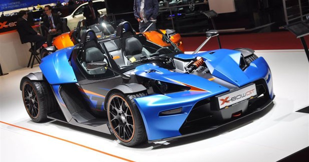 KTM X-Bow GT : débauche de luxe !