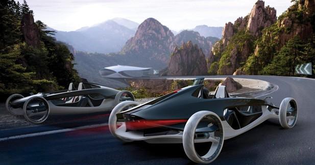 L.A. Autoshow Design Challenge : fantasmes automobile