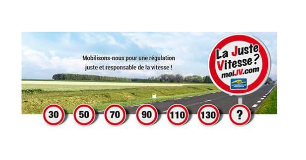 l'Automobile Club Association prône la ''Juste Vitesse'' sur les routes