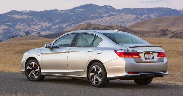 Honda Accord hybride plug-in : la berline la plus sobre ?