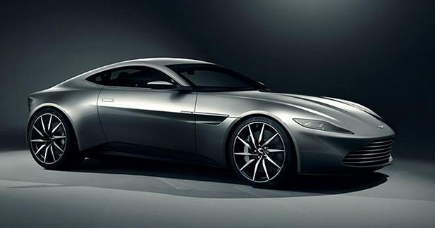 Aston Martin dévoile la DB10 du prochain James Bond