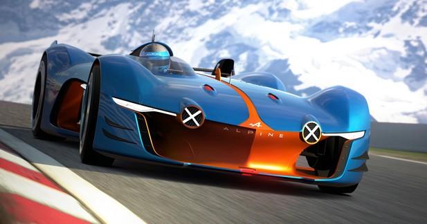Alpine Vision Gran Turismo: un concept dédié au jeu vidéo pour fêter 60 ans d'histoire