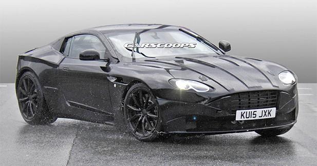 Spyshots : la future Aston Martin surprise au grand jour