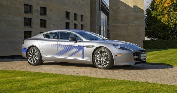 Aston Martin dévoile la Rapide 100% électrique