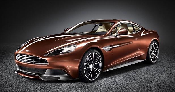 Le Festival Automobile International récompense l'Aston Martin Vanquish