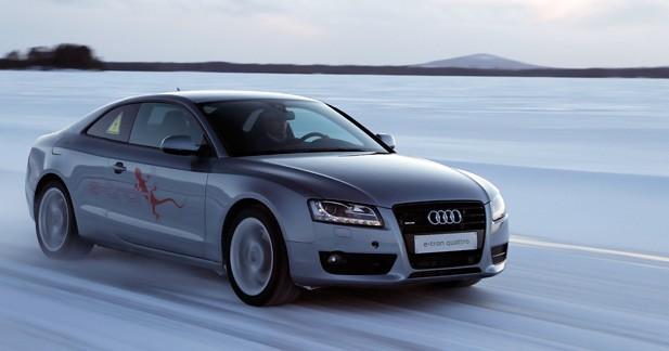 Audi e-tron Quattro: un nouveau concept hybride à transmission intégrale