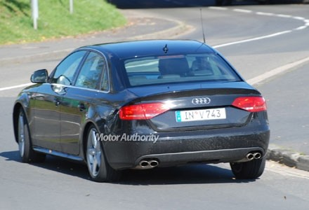 L'Audi S4 surprise sans déguisement