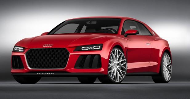 Audi Sport Quattro Laserlight concept : concentré de (nouvelles) technologies