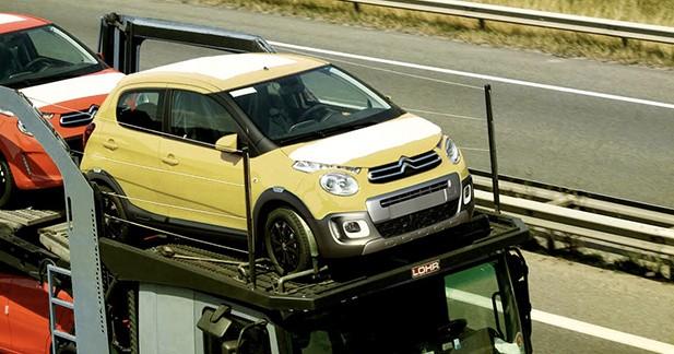 Photo volée : la Citroën C1 Urban Ride en cours de livraison ?