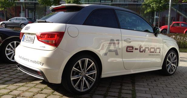 Premiers retours positifs pour l'Audi A1 e-tron