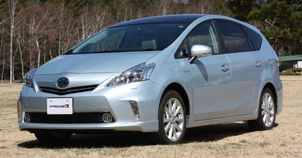 Toyota lance la Prius allongée au Japon