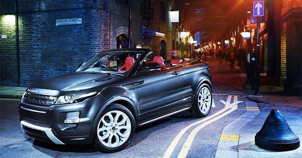 Land Rover donne son feu vert pour la production de l'Evoque Cabriolet