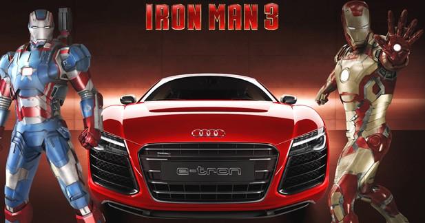 Audi à l'affiche d'Iron Man